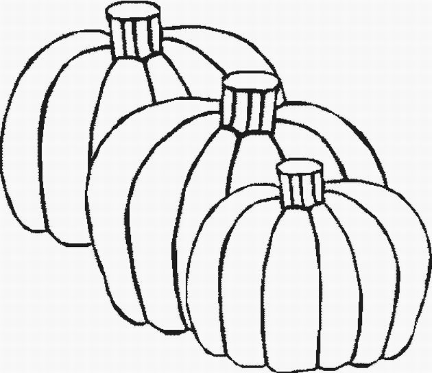 faceless pumpkin coloring pages - photo#43