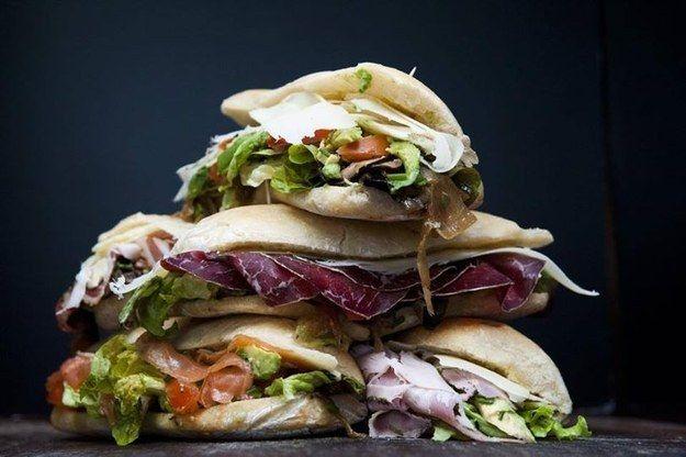 Tous les sandwiches de Chez Alain Miam Miam   25 plans pour manger bien et pas cher à Paris