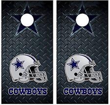 Dallas Cowboys Diamond Plate Cornhole Board Decal Wrap Wraps