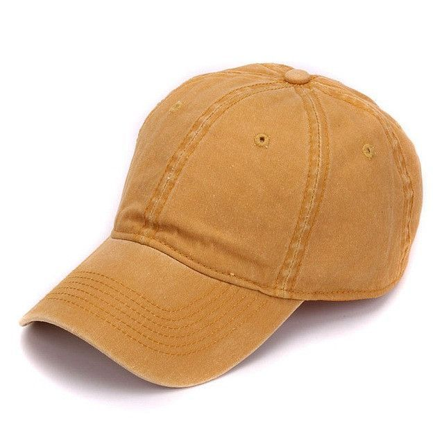 soft front baseball caps mesh brim plain dyed sand washed cotton cap blank dad hat embroidery