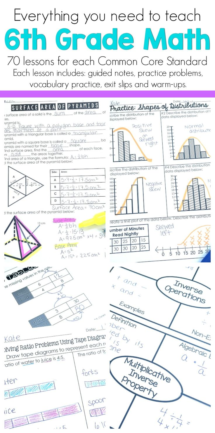 400+ best Sixth Grade- Mathematics images by Jill Denkers on ...