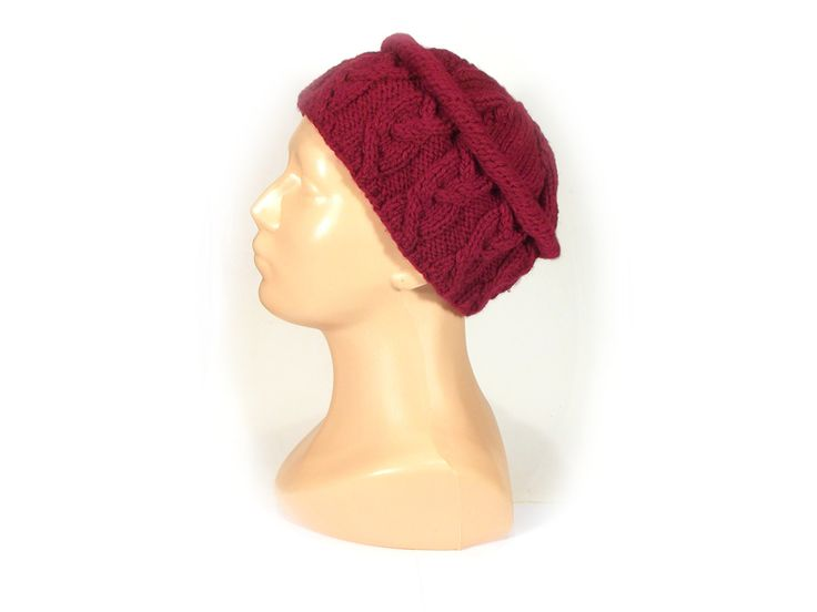 The ruby red - toque hat from betulek by DaWanda.com