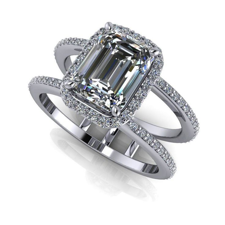 19 Best Forever One Moissanite Engagement Rings Images On