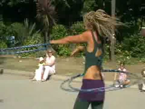 Lisa Lottie, hula hoop dancing. I know, I know, my strange is showing, but this is seriously the coolest thing I've seen in a while.