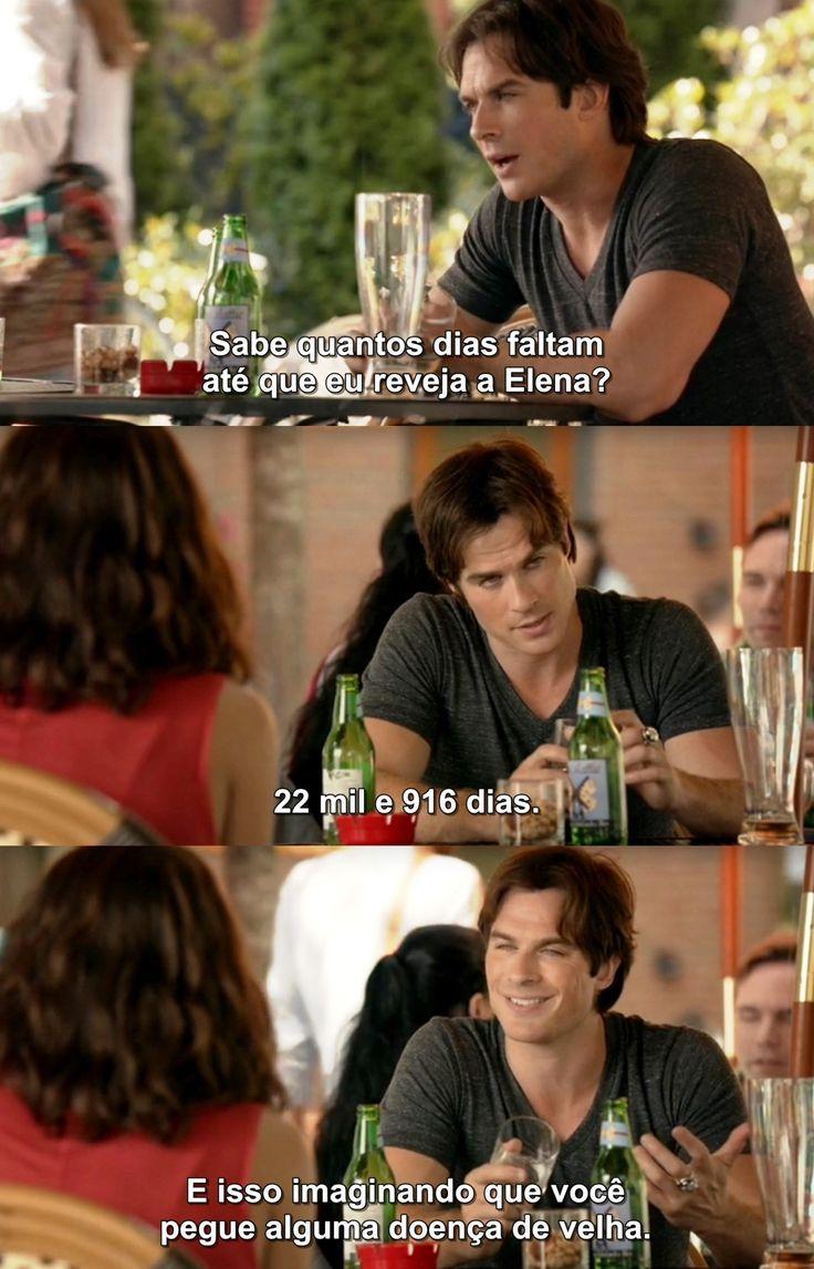 Diários de um vampiro 7X01 -  Damon & Bonnie