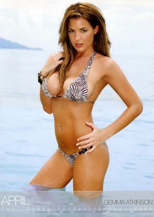 """Photos of Gemma Atkinson, one of the hottest girls in movies and TV. Gemma Atkinson is an English actress and model best known for her role as Lisa Hunter on the Channel 4 show """"Hollyoaks"""" and its spin-offs. She has appeared on several UK reality shows, including """"I'm A Celebrity... ..."""