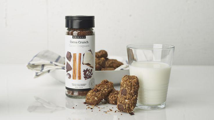 Cocoa Crunch Granola Bars