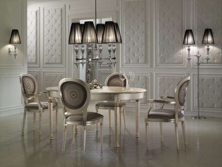 High Standards  Dining Sets  Dining Room  In Style  Champagne  Glamour. 95 best Luxury Dining Room Collection images on Pinterest