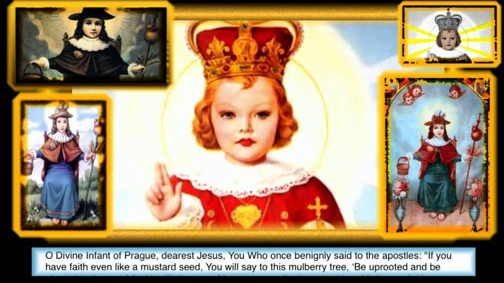 A POTENT NOVENA IN TIME OF DISTRESS TO THE DIVINE INFANT OF PRAGUE