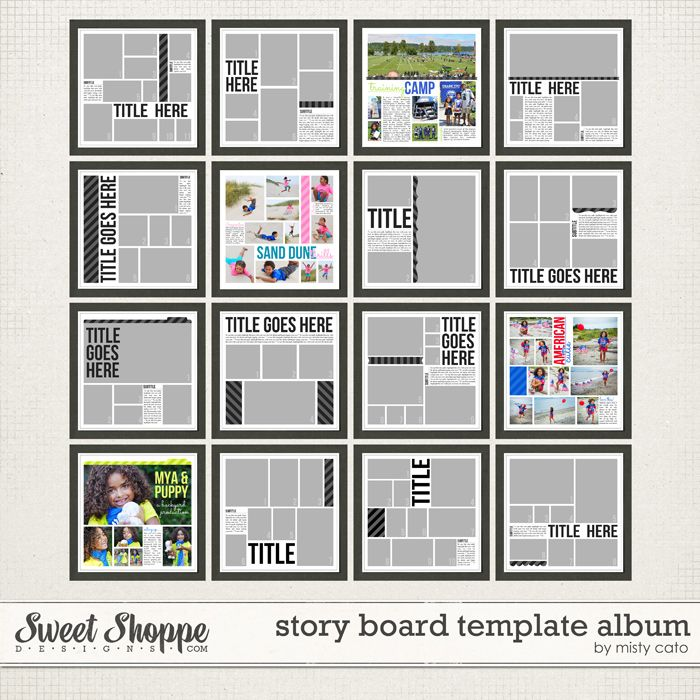 900 best Scrapbooking Ideas images on Pinterest Journaling, All - digital storyboard templates