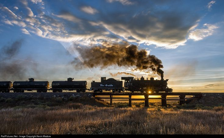 RailPictures.Net Photo: DRGW 484 Denver & Rio Grande Western Railroad Steam 2-8-2 at Antonito, Colorado by Kevin Madore