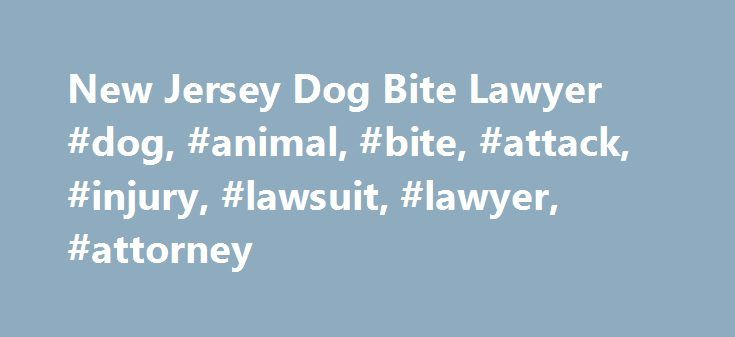 New Jersey Dog Bite Lawyer #dog, #animal, #bite, #attack, #injury, #lawsuit, #lawyer, #attorney http://tanzania.remmont.com/new-jersey-dog-bite-lawyer-dog-animal-bite-attack-injury-lawsuit-lawyer-attorney/  # NEW JERSEY DOG BITE LAWYERS Dog Bite Lawsuits in New Jersey According to the American Veterinary Medical Association between 500,000 and 800,000 people are given medical attention for dog bite injuries annually. Approximately half of those injured are children. Serious dog attacks…