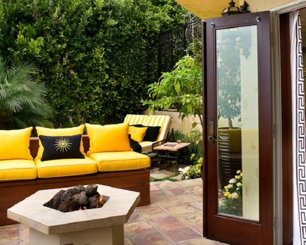 Marvelous Yellow Outdoor Cushions | Better Outdoor Cushions | Pinterest | Discover  More Ideas About Outdoor Cushions