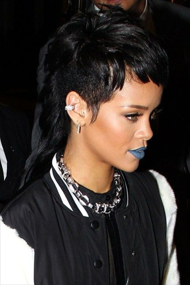 Strange 1000 Images About Rihanna Hairstyles On Pinterest Latest Short Hairstyles Gunalazisus