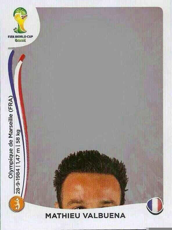 Panini Mağduru Mathieu Valbuena ...