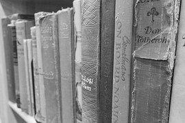 Livres, Vieux, Li, Vieux Livre, Antique