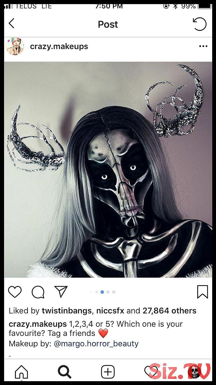 , HalloweenMakeupsfx Cadılar bayramı makyajı, Korkunç