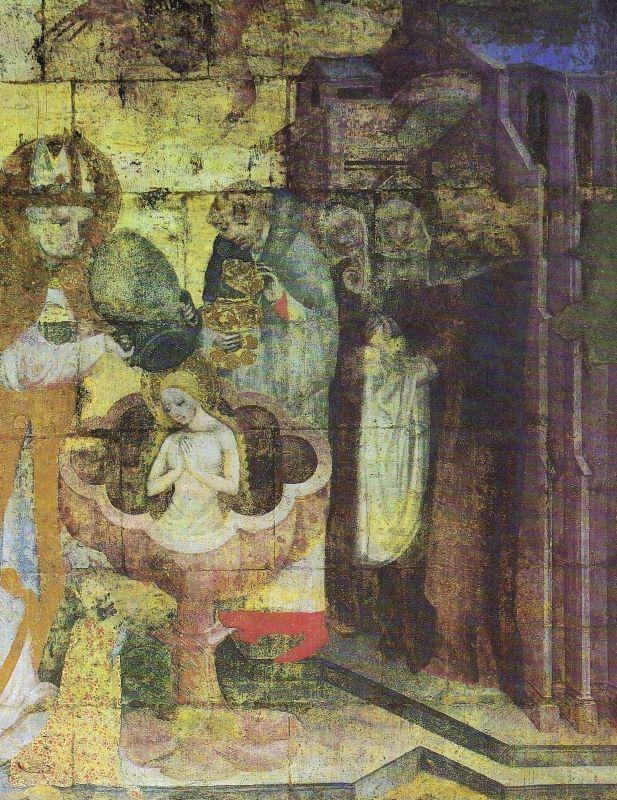 Křest sv. Otýlie (1378)