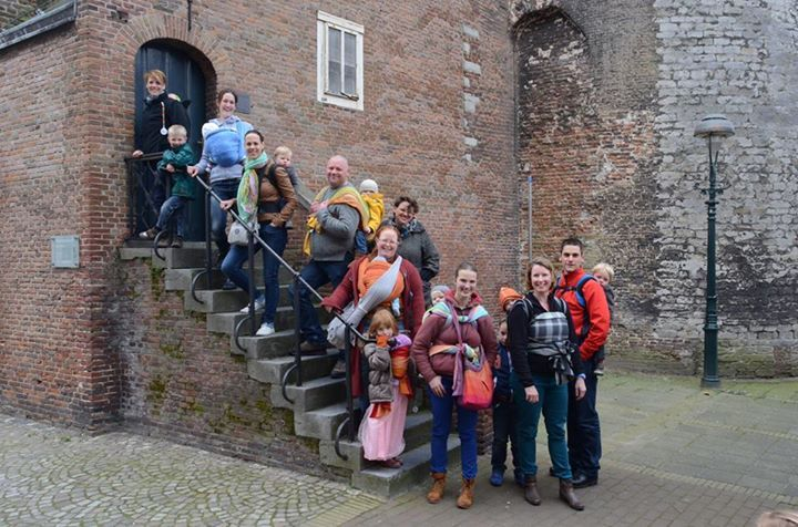 Eerste draagwandeling in Bergen op Zoom maart'14