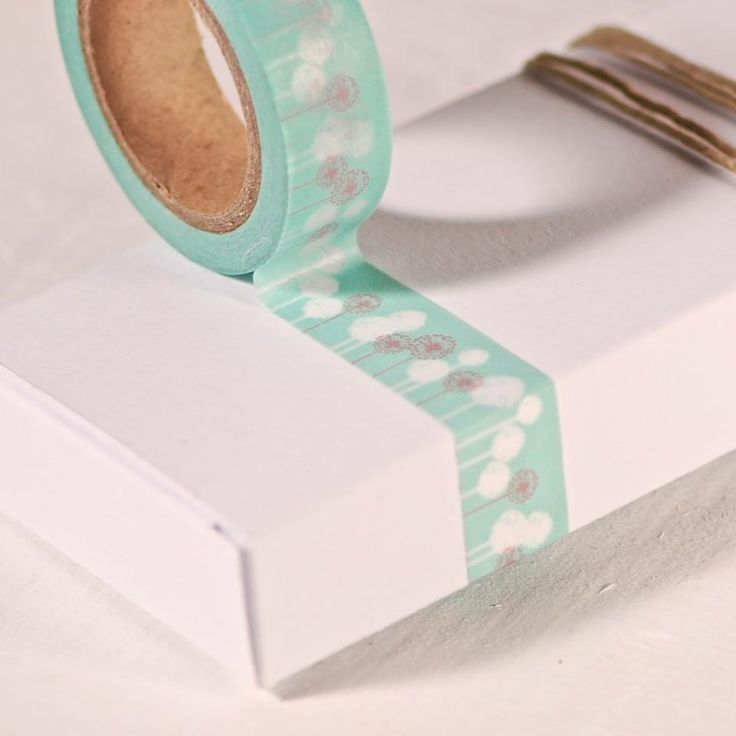 Washi tapes The perfect match dandelions and