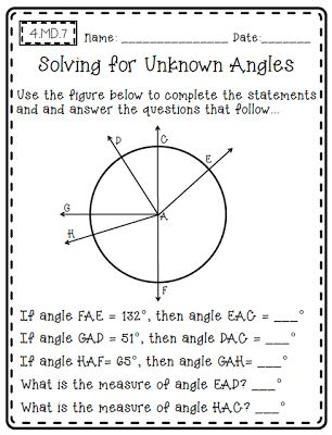 Common Core Math {Outside of the Box} - Open-Ended Math Pages