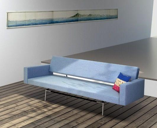 br 12 modern sleeper sofa martin visser spectrum design danish pull out sofa br12 - Modern Sleeper Sofa