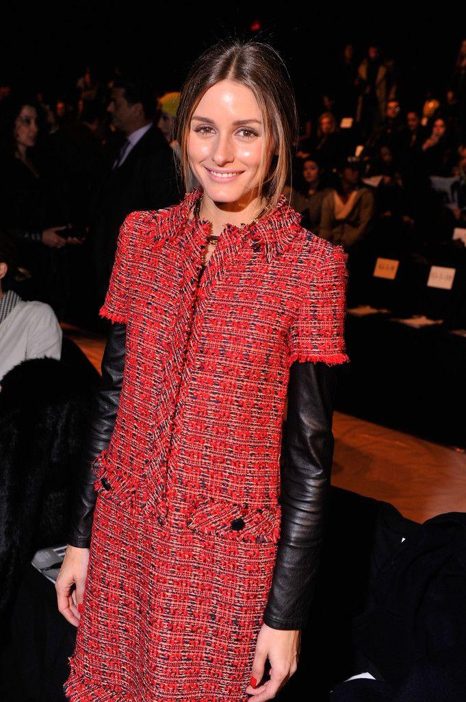 Olivia Palermo Photos: Dennis Basso - Front Row - Mercedes-Benz Fashion Week Fall 2014
