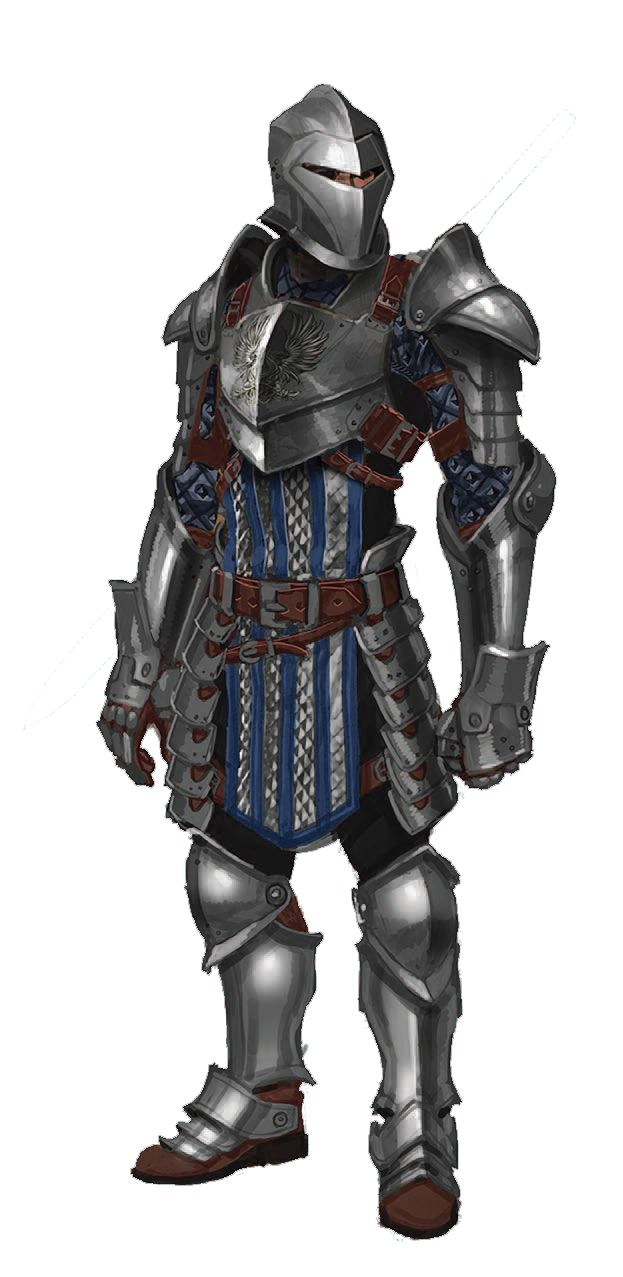 Grey Warden Plate armor.  A lovely concept art from one of my favorite game franchises.