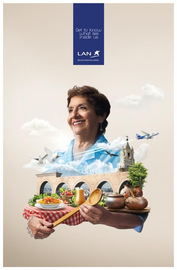 Lan Airlines: Arequipa | Ads of the World™
