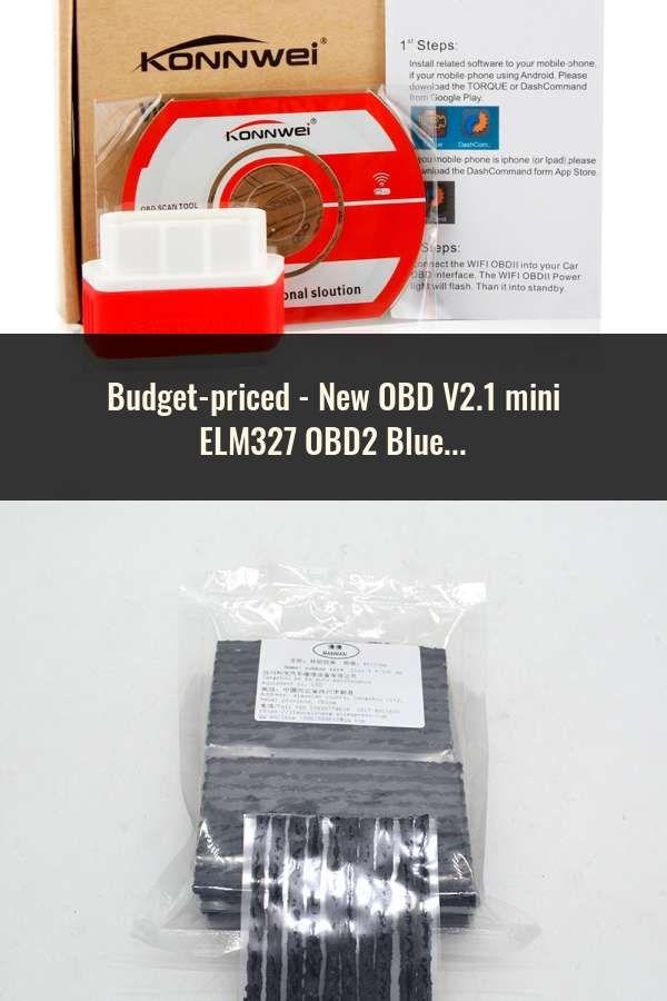 New OBD V2 1 mini ELM327 OBD2 Bluetooth Auto Scanner OBDII 2
