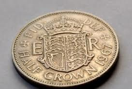 Half-a-Crown - You knew you were #Rich when you got one of these as a #Kid :-) ...... fred67.com ........