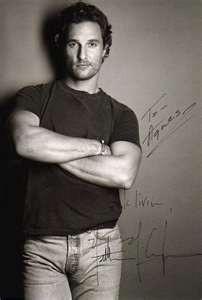 matthew McConaughy #celebs celebs-that-make-me-look