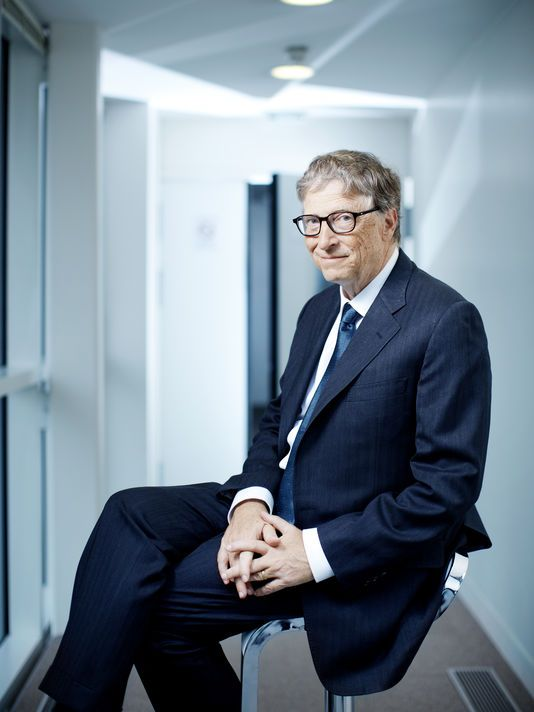 Bill Gates by Lea Crespi #Man Portrait #pickedbyRegis