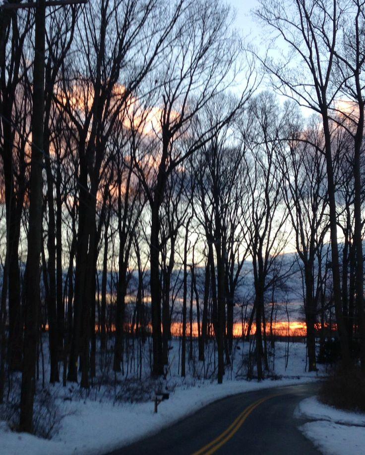 Maryland Winter Sunset