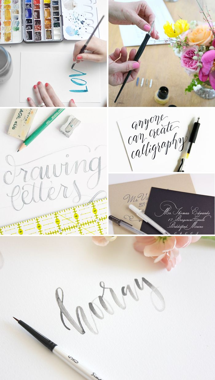 1000 images about hand lettering practice on pinterest Calligraphy tutorial