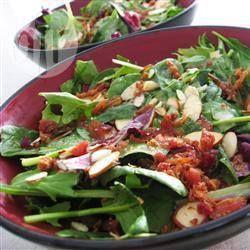 Photo de recette : Salade mesclun, vinaigrette au fromage bleu