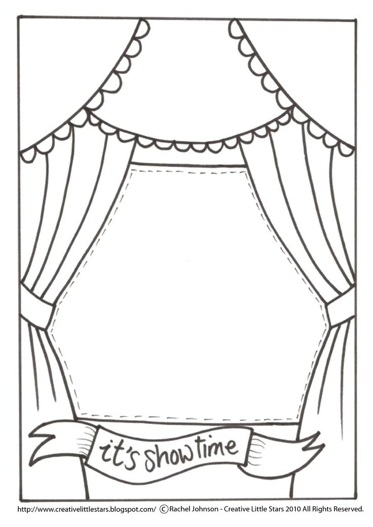 movie theater coloring pages - photo#20