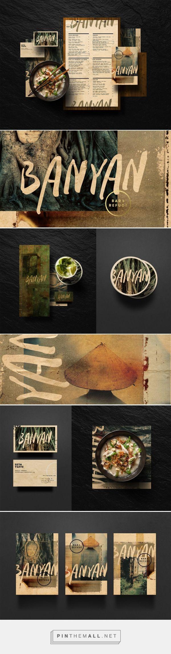Banyan Bar & Refuge Branding on Behance | Fivestar Branding – Design and Branding Agency & Inspiration Gallery