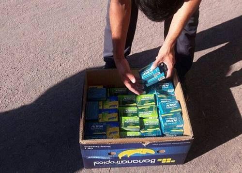 Venta de medicamentos ilegales en Colonia Barón