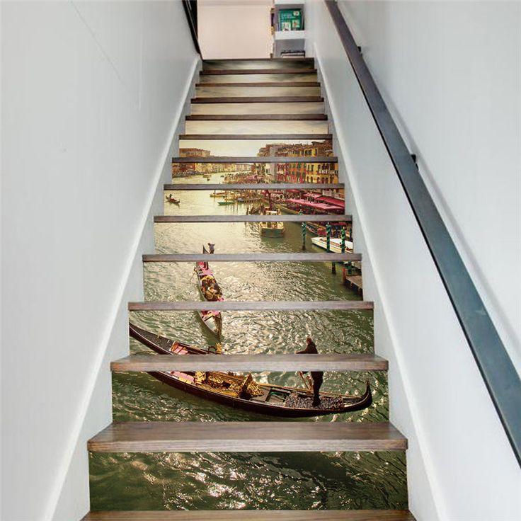 25 beste idee n over grote trap op pinterest droom herenhuis herenhuizen en grote entree - Decoratie montee d trap ...