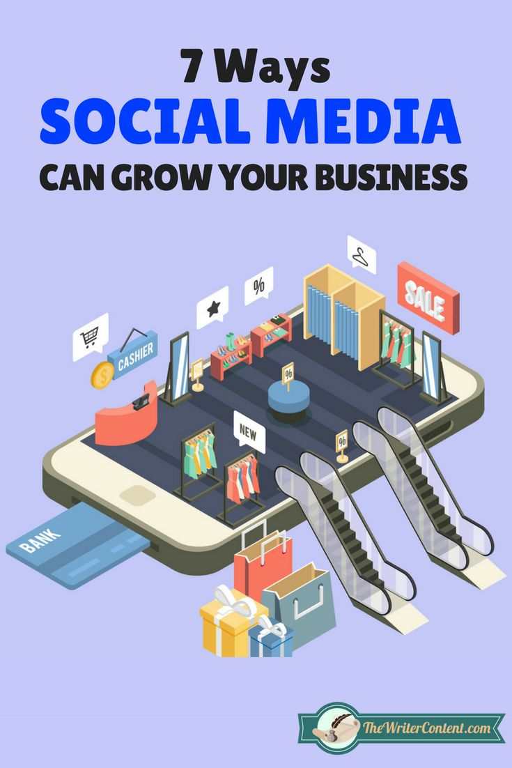 7 ways to grow your business with social media