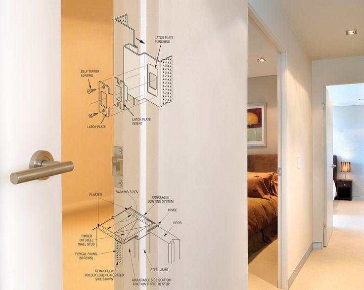 73 best images about door details on pinterest door for Door jamb detail