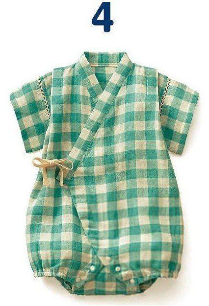 Cuci-cuci mata baby kimono romper
