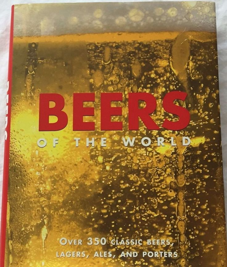 Beers of The World Hardcover Book w/ Dustjacket Lager Ale Porter Beer Guide #ParagonPublishing