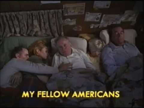 My Fellow Americans - This is one of the funniest movies I have seen.  Two ex-Presidents running for their lives