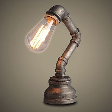 Ecolight® Table Lamps Industrial Loft Retro Novelty Desk Lamp/Study/NightBar/Metal Painting