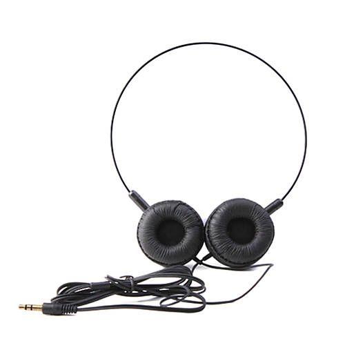 AMcasque 3,5 mm sur l'oreille audio léger pour pc / téléphones (noir) - CAD $ 3.98