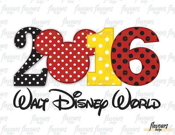 Disney World Familienurlaub  Disney Bügeleisen von FlavoursDesign