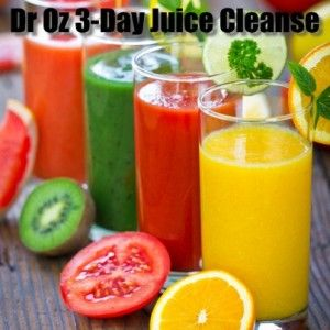 Dr Oz: 3-Day Weekend Juice Cleanse Guidelines-Joe Cross-Juice Cleanse Recipes- Kale Avocado Salad & Raw Carrot Ginger Soup Recipe.Spice Blend Recipe, Indigestion Tips & Memory Boosting Tricks. May 2, 2013