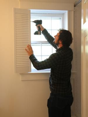 How To Install Interior Plantation Shutters In 2019   For The Home   Diy  Plantation Shutters, Shutters, Interior Shutters